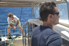 Crew on Outremer 64