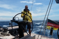 Lennart at the Helm