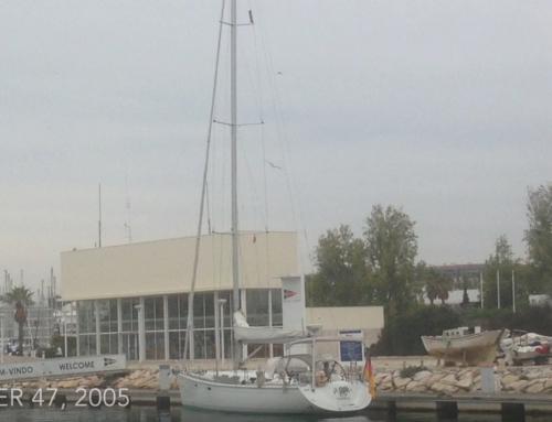 Überführung Lagos/Portugal – Hamburg, Dehler 47.    Nov. 2015
