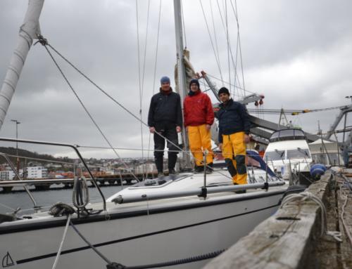 Überführung von Stavanger nach Hamburg im April 2015