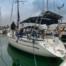 Segelyacht in der Marina